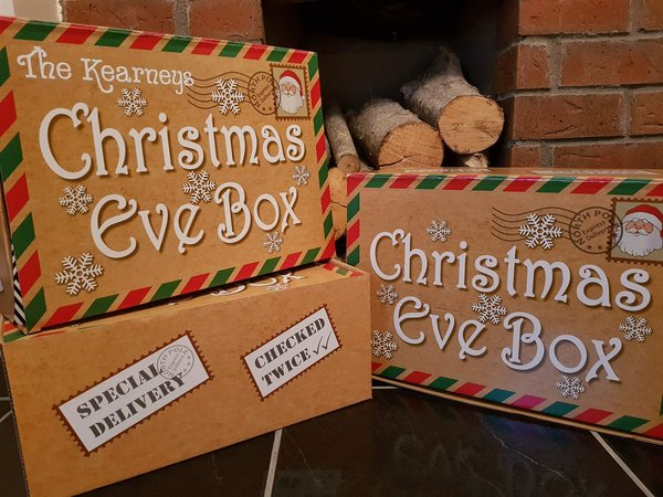 Personalised Traditional Christmas Eve Box