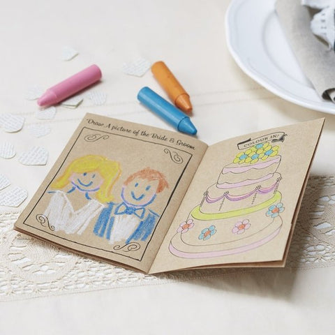 Kids Wedding Activity Book - 5 pack