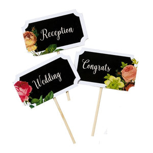 Blossom & Brogues Chalkboard Signs & Pen