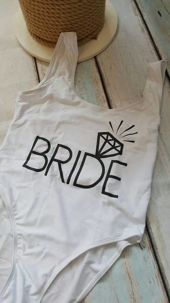 White Bride All in one swimsuit