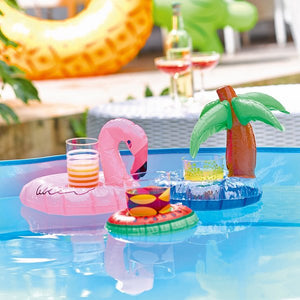 Tropical Mixed 3 pack Mini Inflatable Drinks Holders