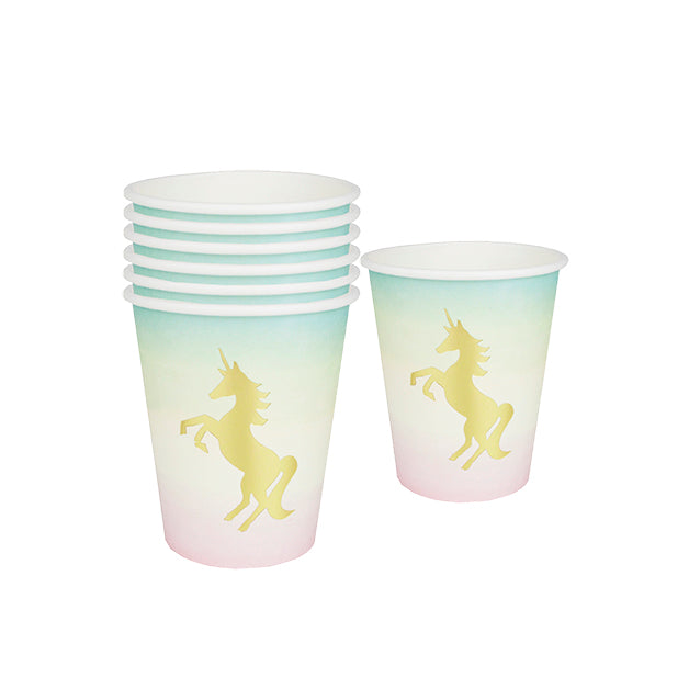 We ♥ Unicorn Paper Cups