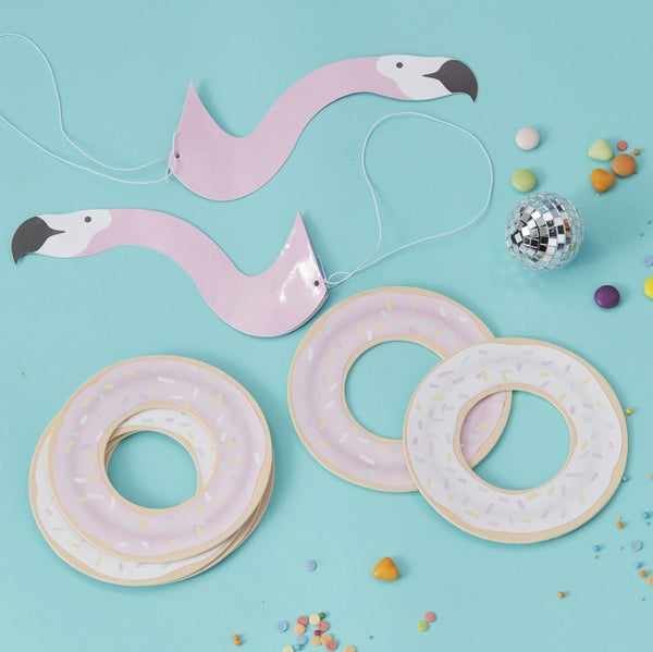 Flamingo Donut Party Game