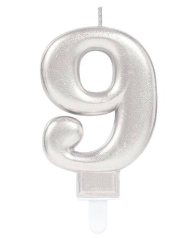 Age Candle - numbers 0 - 9