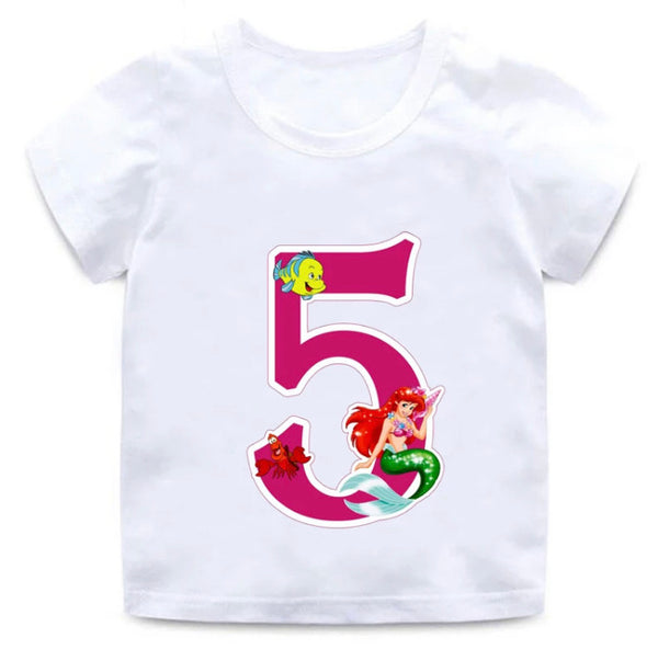 Birthday t-shirt - Little Mermaid