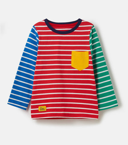 Oliver Top - Multi Stripe