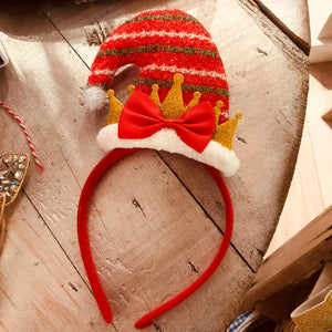 Christmas Hairband - Santa Hat