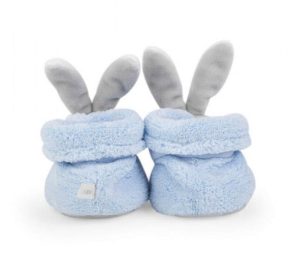 Kaloo Plume Booties (Rabbit Blue)
