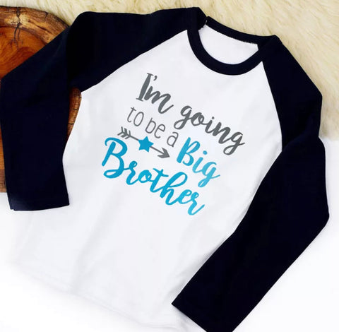PRE-ORDER I'm going to be a Big Brother - long sleeve