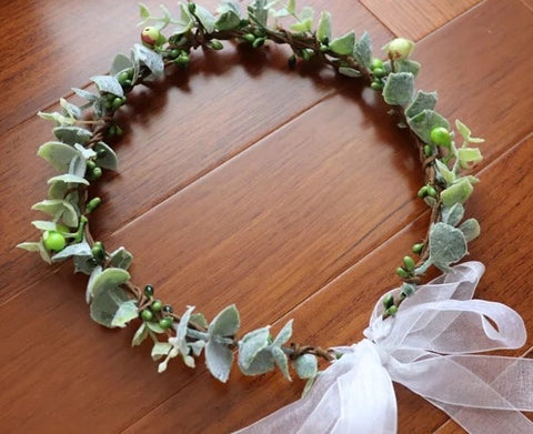 Leaf Flower Headdress- 1st Holy Communion