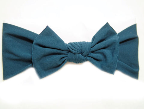 Little Bow Pip - Teal Pippa Bow