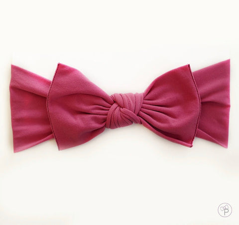 Little Bow Pip - Rose Pink Pippa Bow