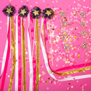 Birthday Buddy Ears & Wand Set - Little Stars Party