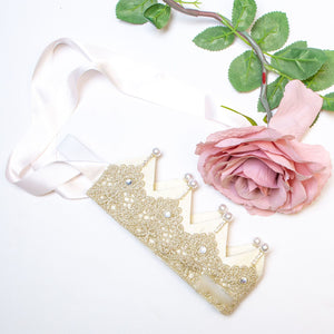 Lace Birthday Crown - Swan Princess Party
