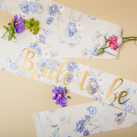 Bride to be sash - Boho Hen Party