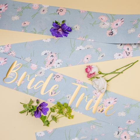 Bride Tribe Sash - Boho Hen Party