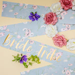 Bride Tribe Sash & Crown - Boho Hen Party
