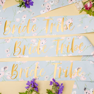 Bride Tribe Sash Set of 3 - Boho Hen Party
