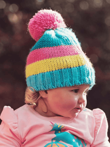 Unicorn bobble hat