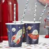 Paper Cups - Space Adventure Party