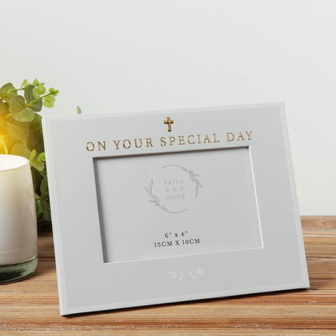 On Your Special Day photo frame