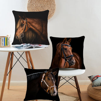 3 modeles coussin cheval
