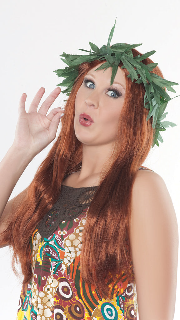 Pot Adult Headband Womens Costume Accessories - Nastassy