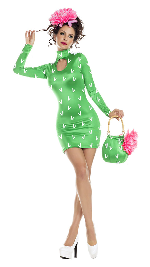 Party King Prickly Pear Womens Costume Womens Adult Sized Costumes - Nastassy