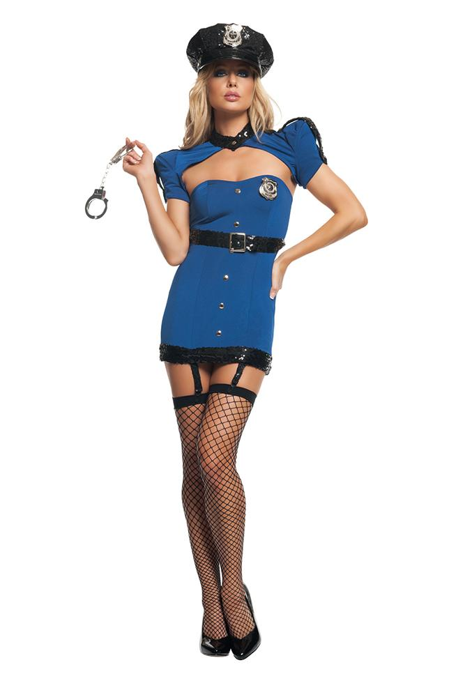 Starline Costumes Police Kit Womens Adult Sized Costumes - Nastassy