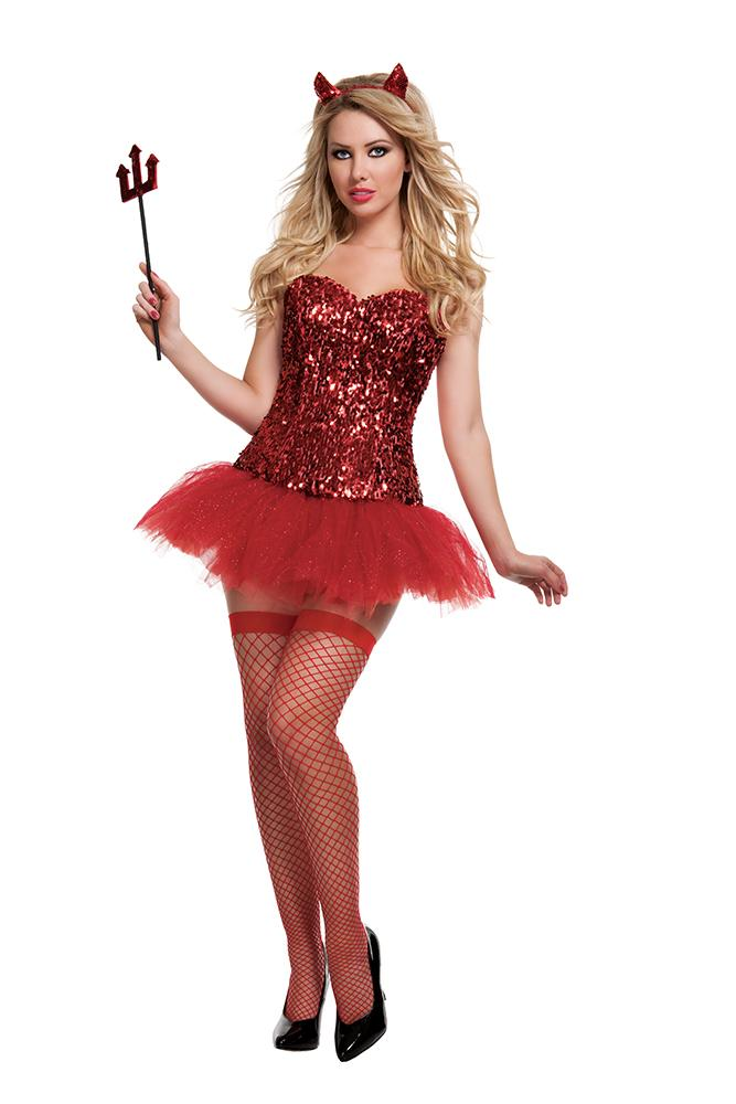 Starline Costumes Devil Kit Womens Adult Sized Costumes - Nastassy
