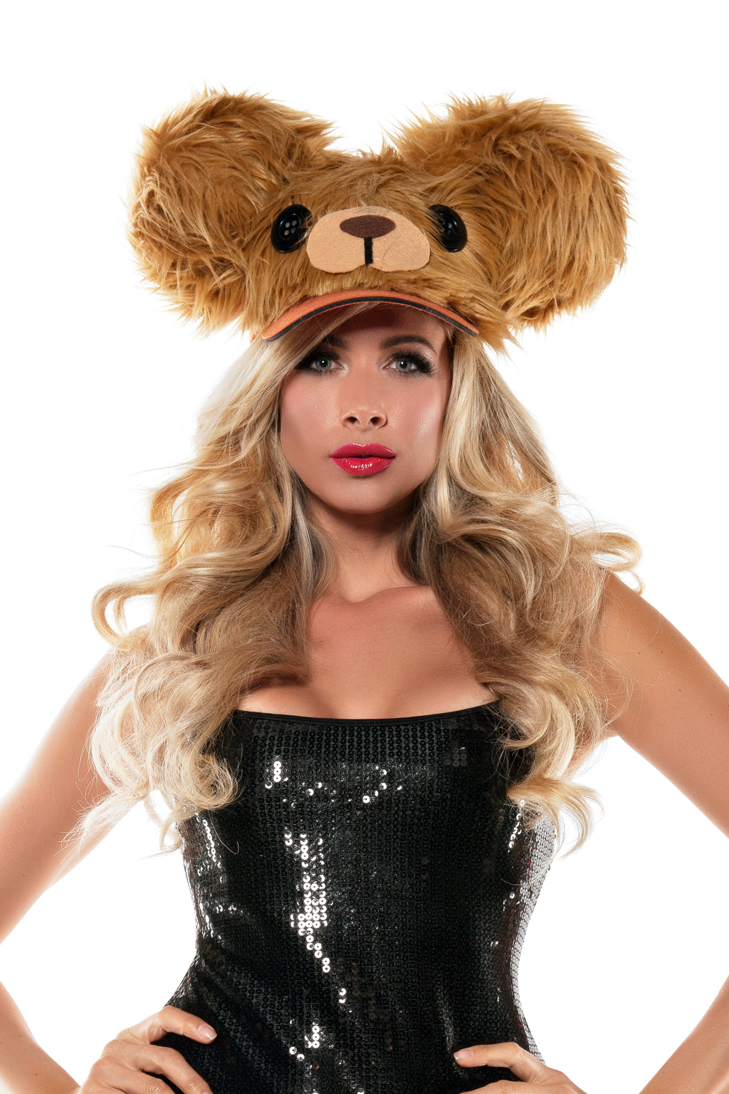 Starline Fuzzy Hat Womens Costume Accessories - Nastassy