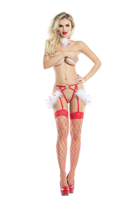 Raveware Ambrosia Vixen Two-Piece Play Set Womens Adult Exotic Lingerie Sets - Nastassy
