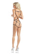 Raveware Ambrosia Sugar & Spice Harness Playsuit Womens Adult Exotic Lingerie Sets - Nastassy