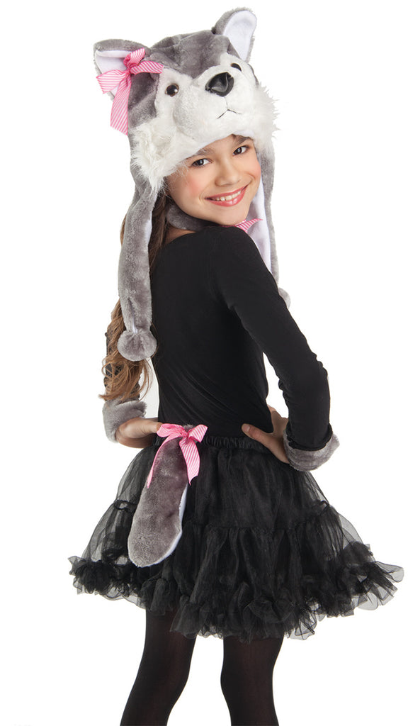 Party King Wolf Costume Accessory Kit Womens Adult Sized Costumes - Nastassy