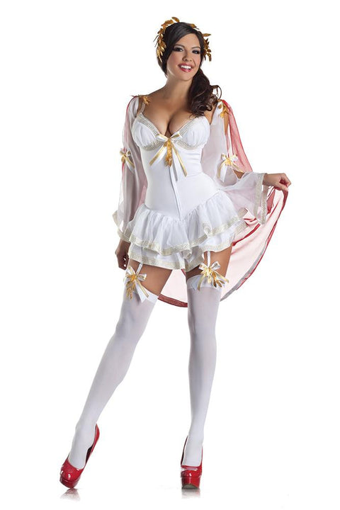 Party King Women's Greek Goddess Body Shaper Costume Womens Adult Sized Costumes - Nastassy