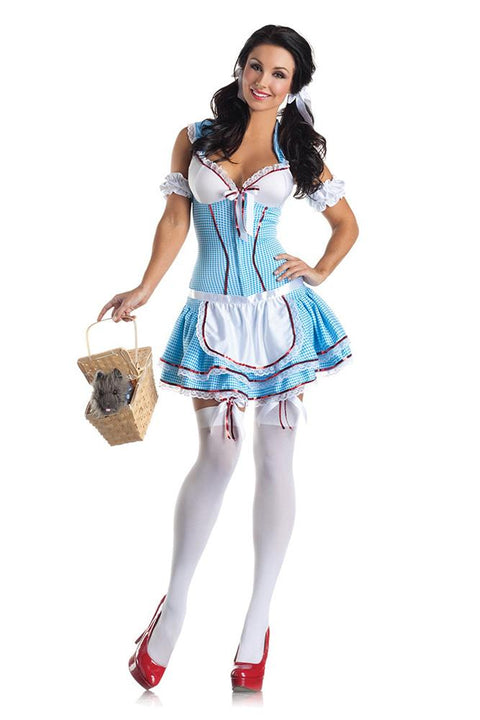 Party King Kansas Cutie Body Shaper Costume Womens Adult Sized Costumes - Nastassy