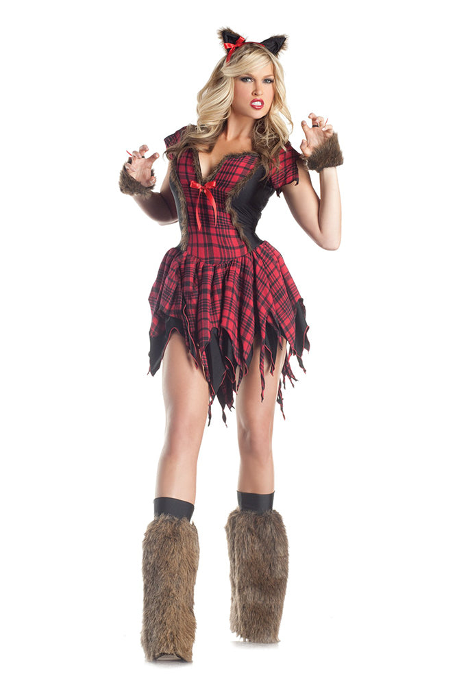 Party King Women's Werewolf Costume Womens Adult Sized Costumes - Nastassy