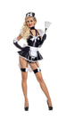 Party King Lace-Up Maid  - Nastassy