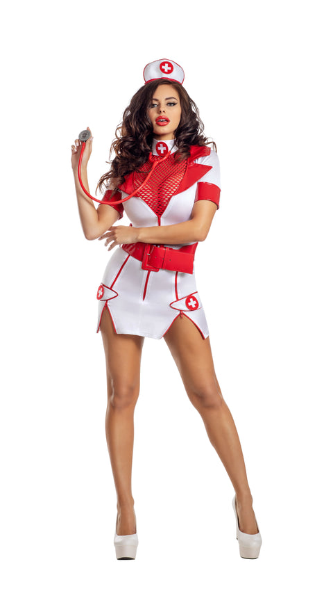 Party King Zip-Up Nurse  - Nastassy