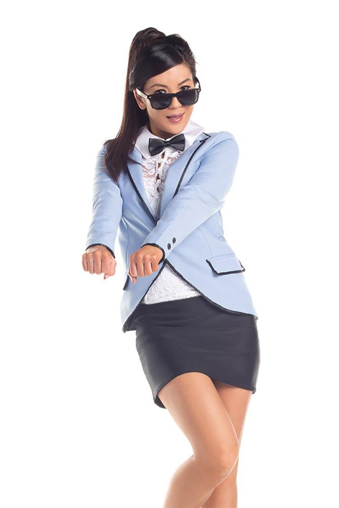 Party King Korean Popstar Costume Womens Adult Sized Costumes - Nastassy