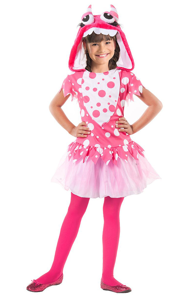 Party King Perfect Lil' Monster Child Costume Girls Childrens Costumes - Nastassy