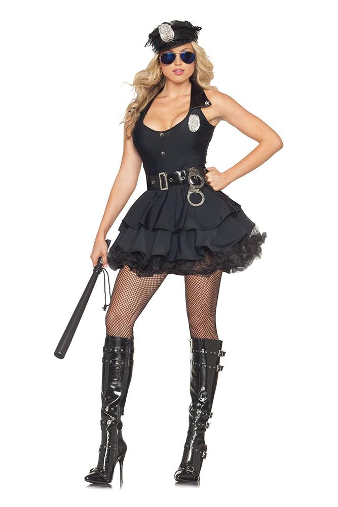 Party King Women's Sexy Cop Costume Womens Adult Sized Costumes - Nastassy