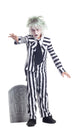 Party King Graveyard Ghost Child Costume Girls Childrens Costumes - Nastassy