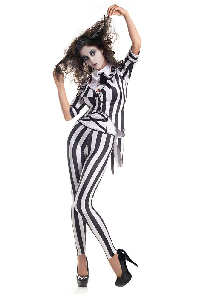 Party King Women's Graveyard Ghost Costume Womens Adult Sized Costumes - Nastassy