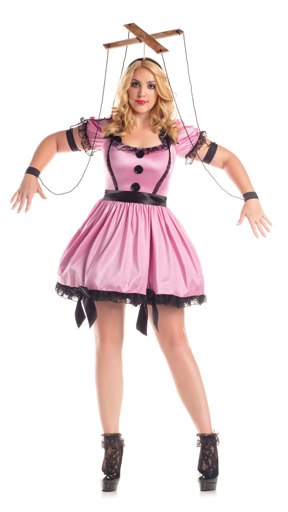 a0d0c9ada Party King Women s Pink Marionette Plus Size Costume Womens Adult Sized  Costumes - Nastassy. Images   1   2