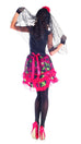 Party King Women's Day of the Dead Senorita Costume Womens Adult Sized Costumes - Nastassy