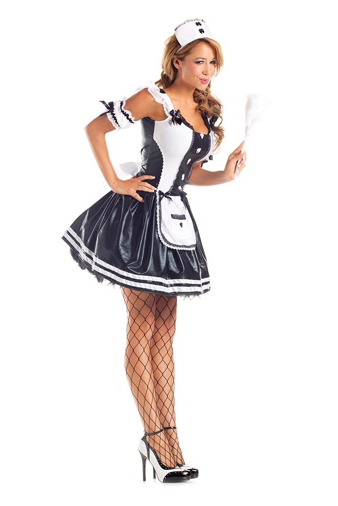 Party King Women's Maid for Fun Costume Womens Adult Sized Costumes - Nastassy