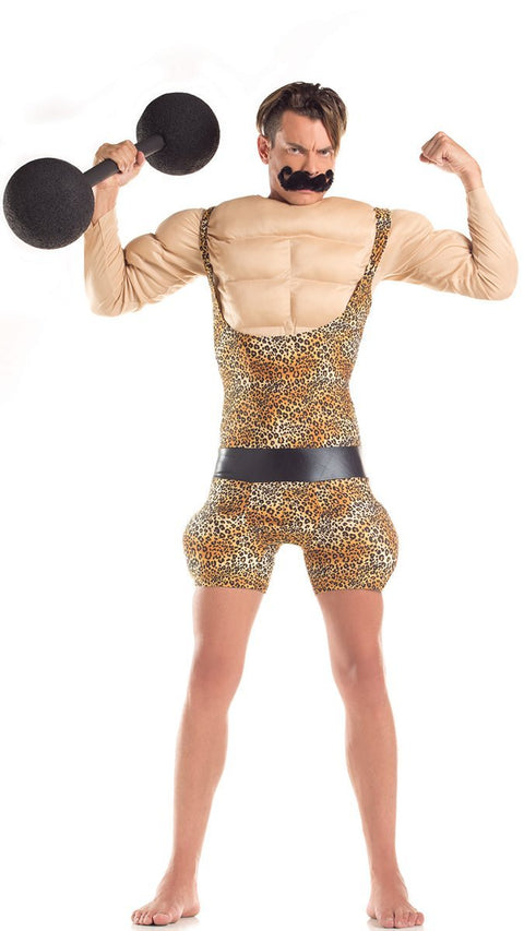 Party King Strongman Adult Costume Mens Adult Sized Costumes - Nastassy