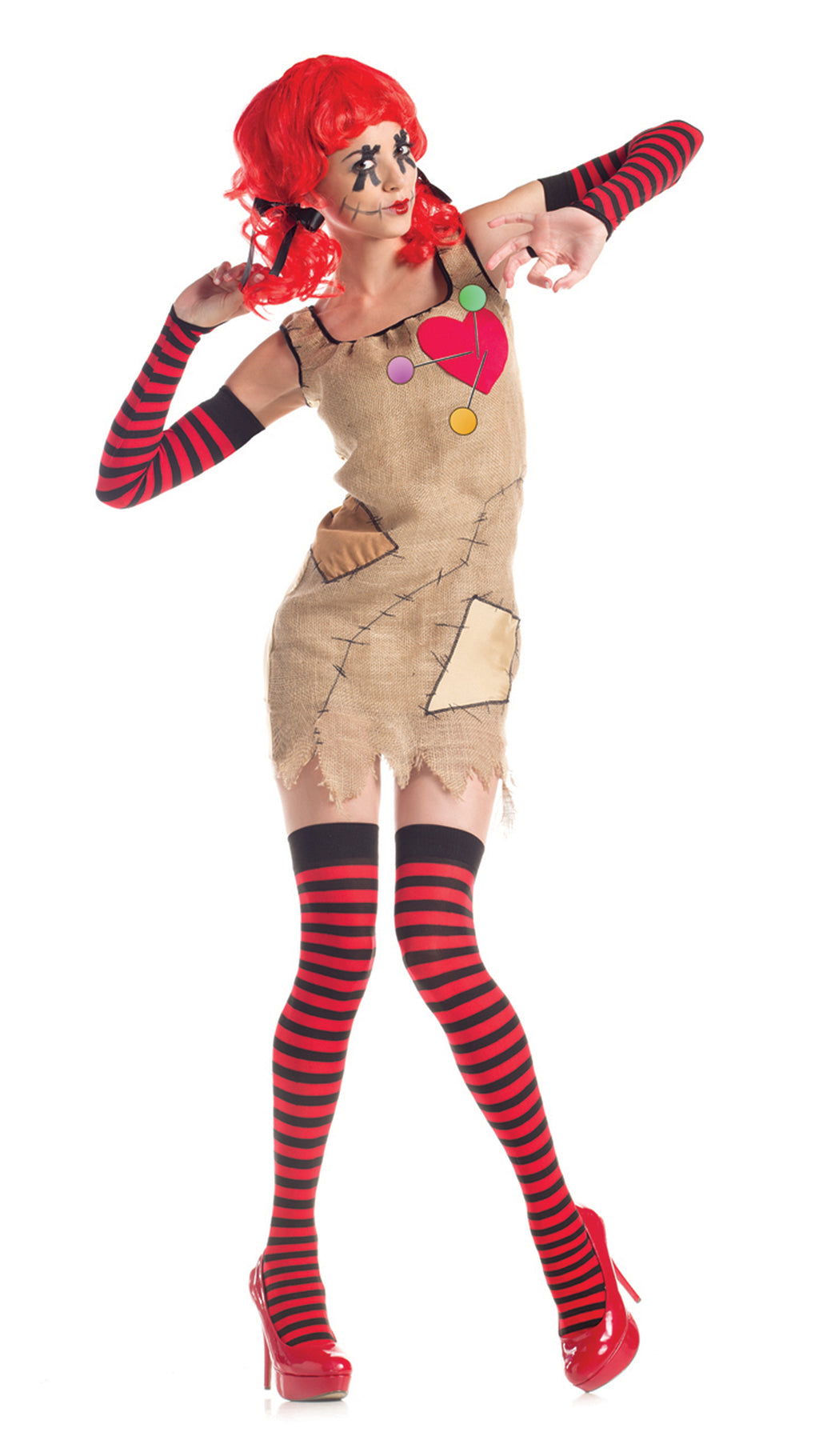 Party King Women's Voodoo Doll Costume Womens Adult Sized Costumes - Nastassy