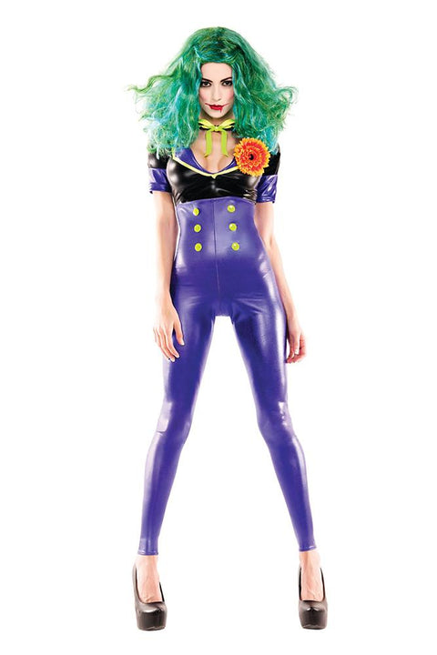 Party King Women's Comic Villainess Costume Womens Adult Sized Costumes - Nastassy